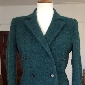 BLK DNM Cozy Textured Forest Wool Blazer